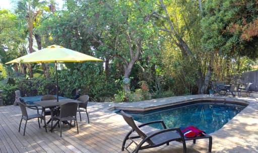 Hollywood Hills house, pool, patio, oasis in Central LA, Los Angeles, CA | Peerspace