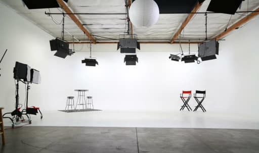 Amazing Photo and Video Production Studio with White Cyclorama Wall - Lights Included! in Grand Central, Glendale, CA | Peerspace