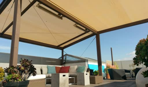 Sunny, Modernly Furnished Rooftop Deck with Beach View in Venice, Venice, CA | Peerspace