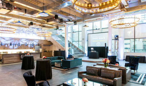 Spacious industrial-chic event space, located in the heart of the Financial District in Lower Manhattan, New York, NY | Peerspace