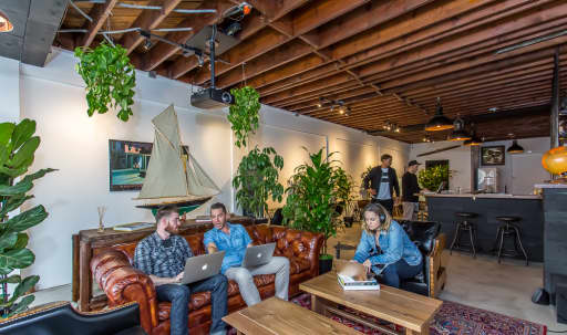 We are a Co-Working, private office/lounge/event space with a Madmanesque classy vibe. . Located in Del Rey, minutes away from Playa Vista, Culver City, Venice, Marina Del Rey. in undefined, Los Angeles, CA   Peerspace