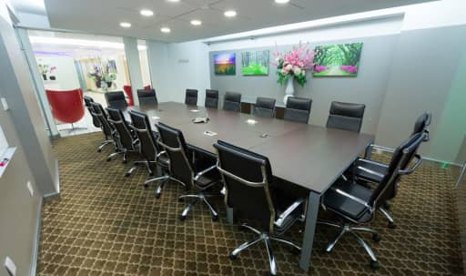 Beautiful, Large Executive Meeting Room D for 18 People - TS in Midtown, NEW YORK, NY | Peerspace