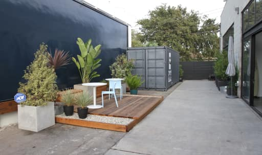 Modern Inside / Outside Event Space in McLaughlin, Culver City, CA | Peerspace