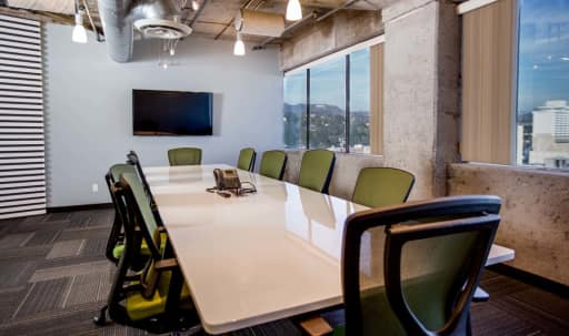 Hollywood Conference Room for 12 with a Penthouse View in Central LA, Los Angeles, CA | Peerspace