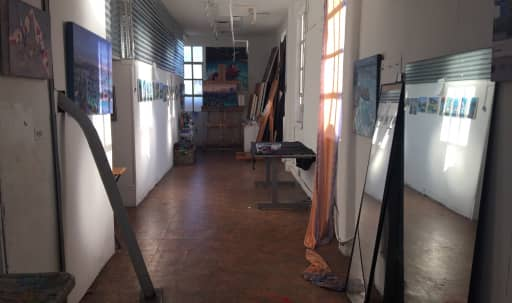 Artist Studio with Panorama of LA in Wilshire Center, Los Angeles, CA | Peerspace