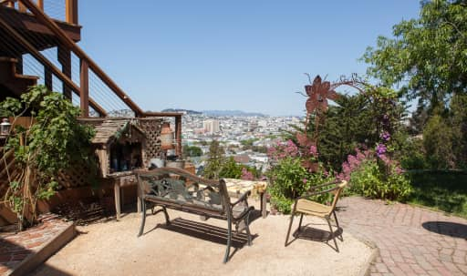 Magical Garden with View in La Lengua, San Francisco, CA | Peerspace