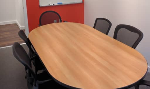 8 Person Private Conference/Classroom-style Room by Penn Station & Herald Square in Midtown, New York, NY | Peerspace
