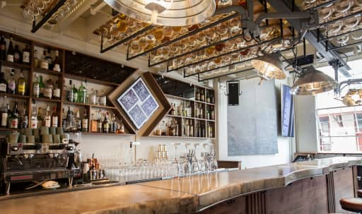 Semi-Private Space at Futurist Bar in Fort Mason (30-Person, Event) in Marina District, San Francisco, CA | Peerspace