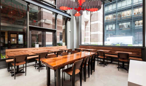 SOMA FiDi Restaurant with Vaulted Ceilings and Outdoor Courtyard in South of Market, San Francisco, CA | Peerspace