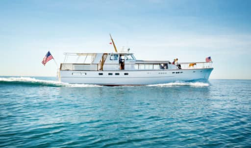 Gorgeous Creative Vessel, 1960's Classic 61ft Yacht in undefined, Marina Del Rey, CA | Peerspace