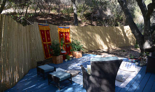 Meditation/Exercise/Meeting area under a Canopy of Oak Branches in Sylvia Park, Topanga, CA | Peerspace