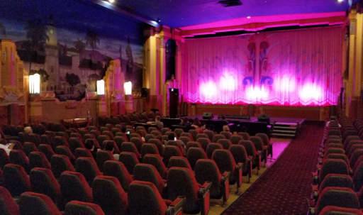 Movie Theater with 40s Hollywood Mural/Vintage Marquee & Lobby in Westwood, Los Angeles, CA | Peerspace