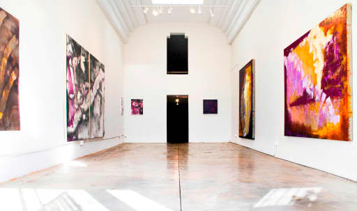 Contemporary art gallery with garden available for rent in Mid City, Los Angeles, CA | Peerspace