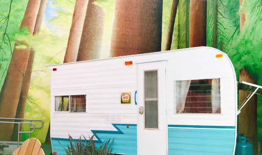 Betsy, a Retro Camper in South of Market, San Francisco, CA | Peerspace