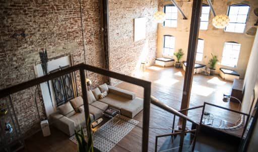 Creative Loft in Downtown with Exposed Brick in Fashion District, Los Angeles, CA | Peerspace