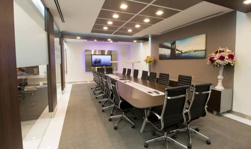 Large Midtown Glass Conference Room - Meeting Room D - HS in Midtown, New York, NY | Peerspace