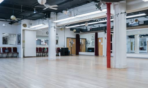 Prime Location Open Ballroom Studios for fitness, dancing, casting calls, photo shoots, meetings, lectures, etc. in Midtown, New York, NY | Peerspace