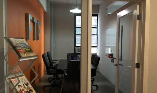 Convenient Midtown West Conference Room in Industrial Style Office in Midtown, New York, NY | Peerspace