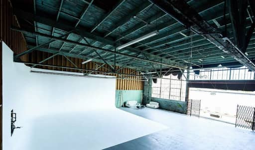 Large, 2-Wall Cyc Stage in South Los Angeles, Los Angeles, CA | Peerspace