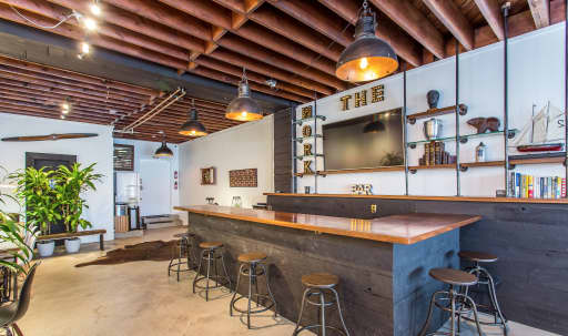Great For Filming Bar Scenes, Hotel Lobby, Lounge, Art Shows, A Sports Lounge Environment, Man Cave As Well As An Office Space. This Space Can Also Be Set Up For All Documentary Types, Music Videos, And Any Small Private Event in undefined, Los Angeles, CA   Peerspace
