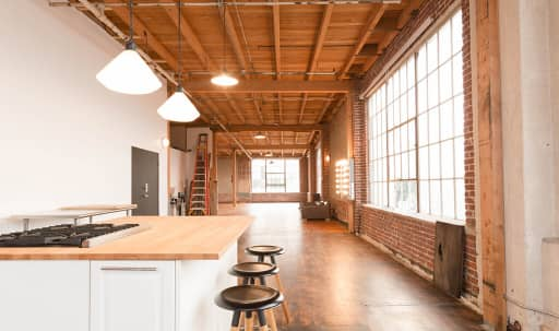 NYC Loft Style Natural Light Studio with Shoot-In Gourmet Kitchen in South Los Angeles, Los Angeles, CA | Peerspace