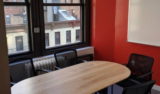 6-Person Private Conference/Classroom-style Room by Penn Station & Herald Square in Midtown, New York, NY | Peerspace