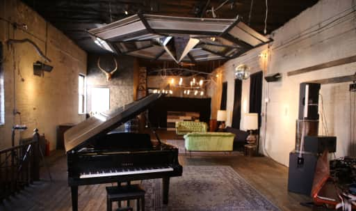 2-story 1920's Brick Building with Gallery, Vintage Detail Loft and Roof in Williamsburg, Brooklyn, NY | Peerspace