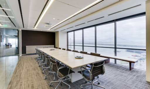 Bright Boardroom with Panoramic Bay Views in South of Market, San Francisco, CA | Peerspace