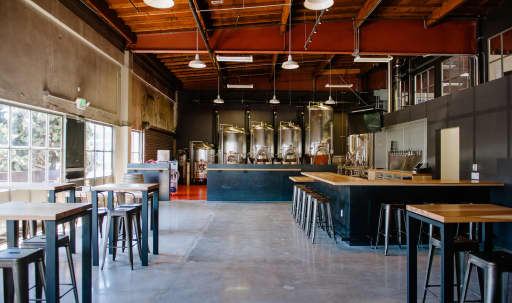 Brewery in Industrial-chic Warehouse in Dogpatch, San Francisco, CA | Peerspace