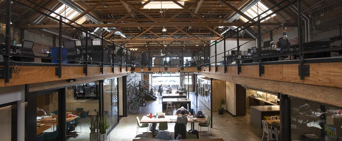 Light-filled Industrial Chic Warehouse in Temescal in Oakland Hero Image in Temescal, Oakland, CA