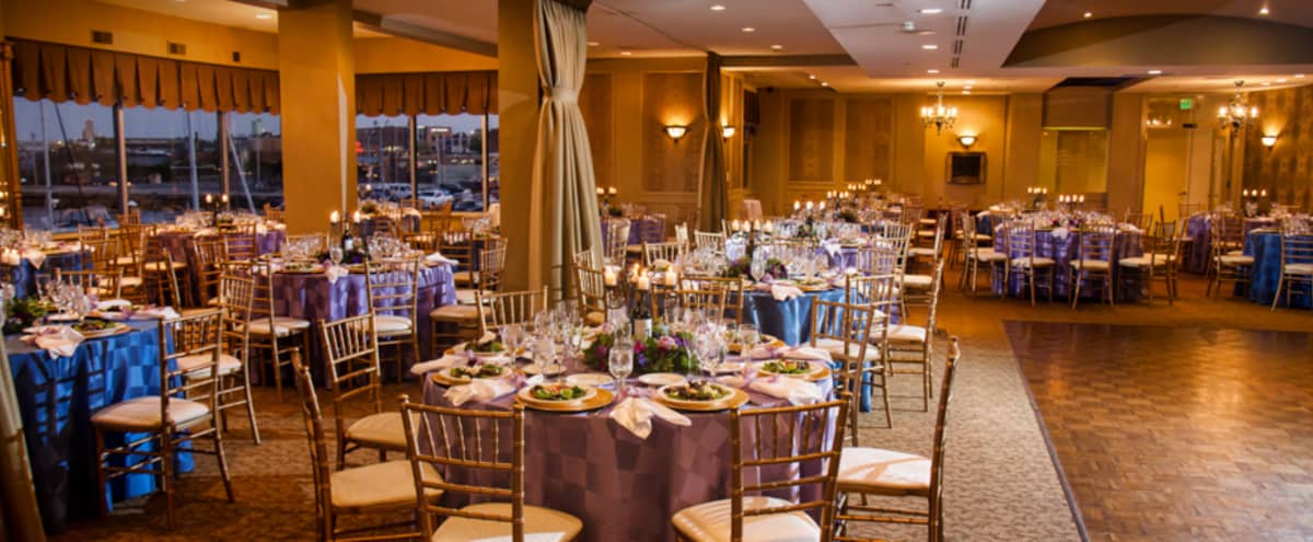 Downtown Marina, weddings and social events venue in Baltimore Hero Image in Riverside, Baltimore, MD