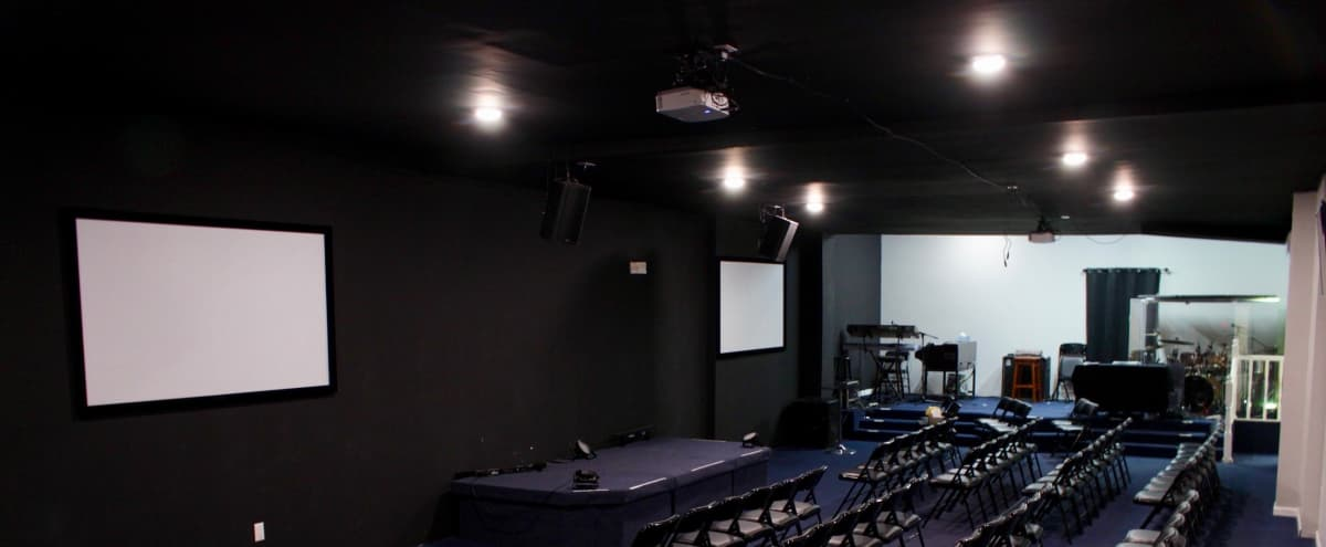 Flex Church space with separate meeting rooms in Brooklyn Hero Image in East New York, Brooklyn, NY
