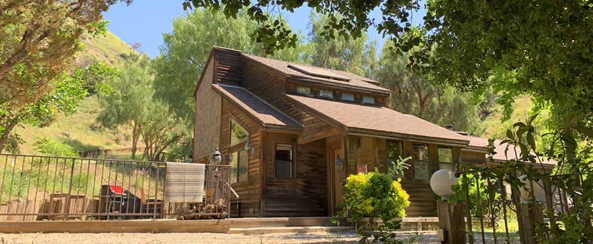 Modern Craftsman Cabin in the Woods ~ 1980s in Sun Valley Hero Image in Sun Valley, Sun Valley, CA
