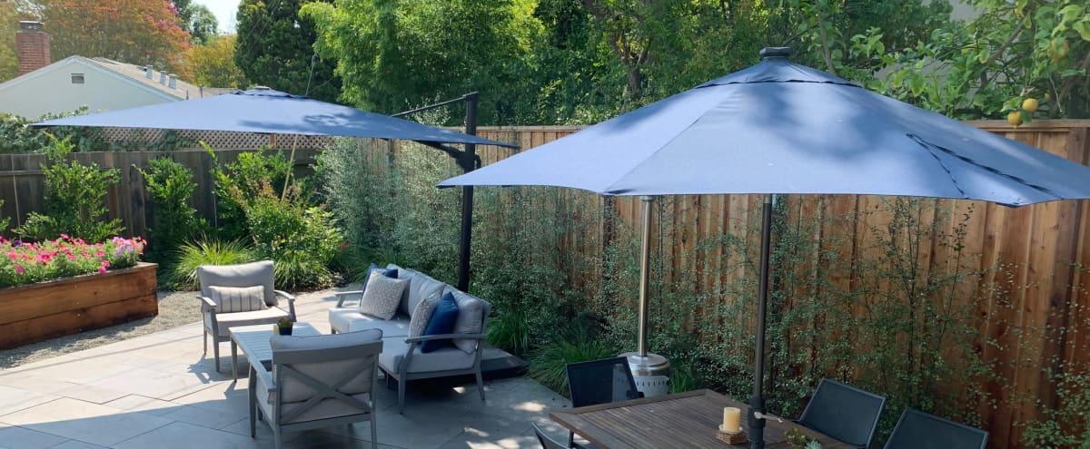 Outdoor Meeting Space with Beautiful Gardens in PALO ALTO Hero Image in Duveneck/St. Francis, PALO ALTO, CA