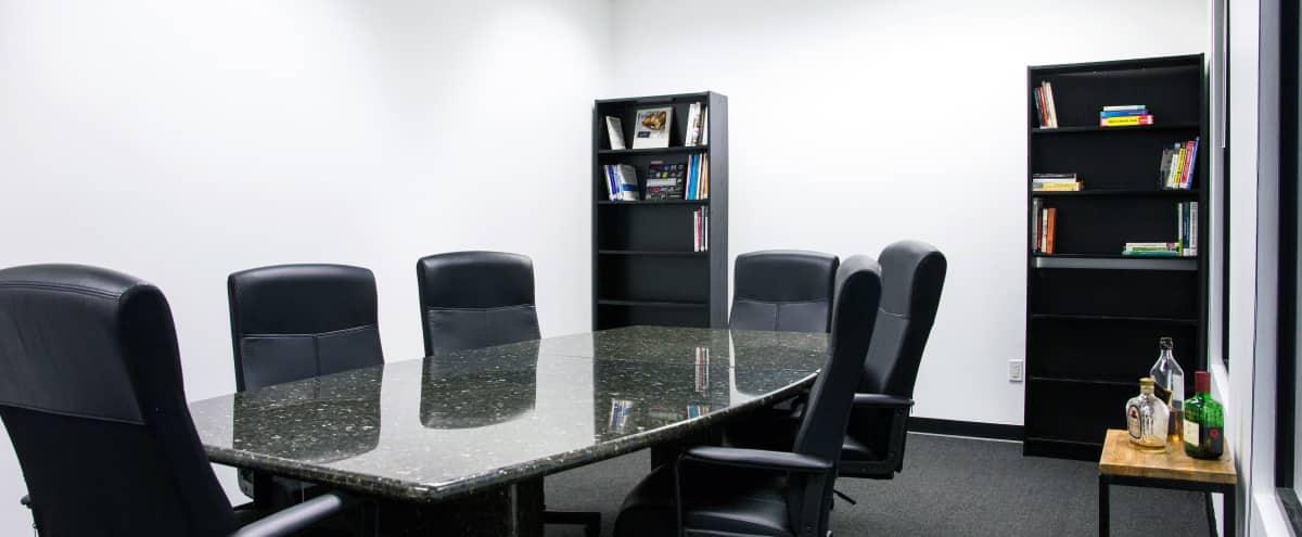 DTLA High Rise Executive Deposition Conference Room in Los Angeles Hero Image in Central LA, Los Angeles, CA