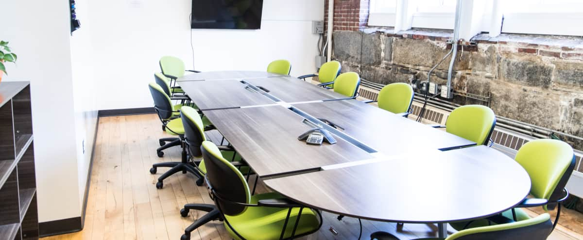 Lovely South Station Conference Room for 6-15 People in Boston Hero Image in Downtown, Boston, MA