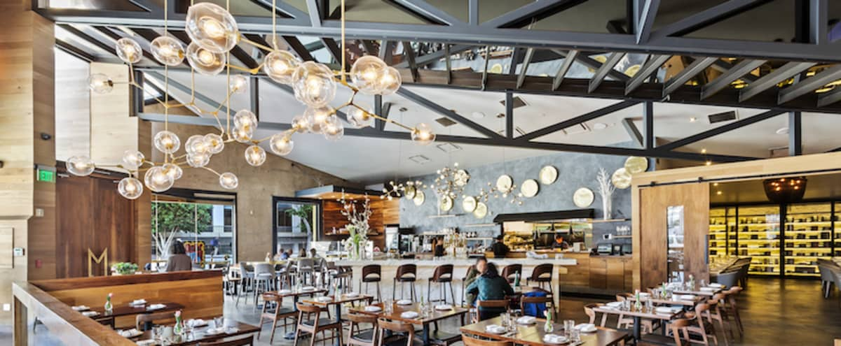 Modern Upscale Italian Restaurant and Bar in DTLA in Los Angeles Hero Image in Downtown, Los Angeles, CA