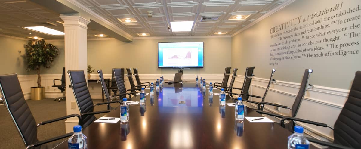 Conference Room for up to 16 attendees in BASKING RIDGE Hero Image in undefined, BASKING RIDGE, NJ