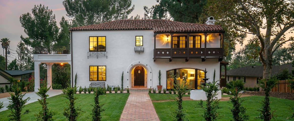 Large Elegant Spanish Estate in Altadena Hero Image in undefined, Altadena, CA