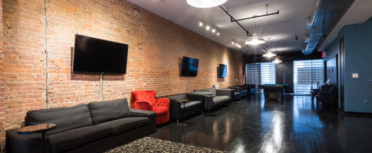 Loft Perfectly Equipped for Your Business Meeting, off site, product launch, staff training, pop up shop, tv/film or print shoot in New York Hero Image in Midtown, New York, NY