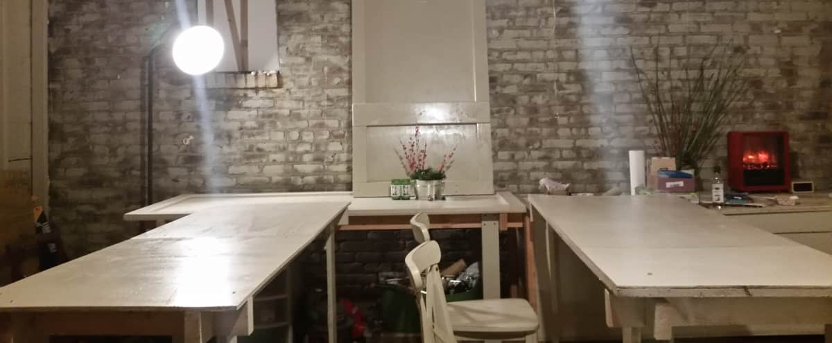 Williamsburg Artist Workshop and Indoor/Outdoor Event Space in Brooklyn Hero Image in Williamsburg, Brooklyn, NY