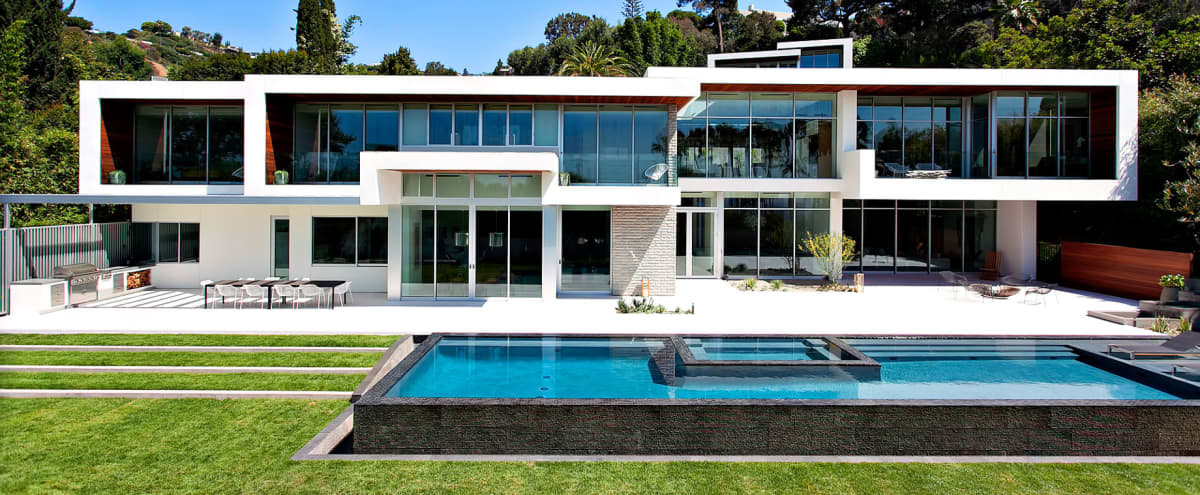 Sunset Modern Architectural Compound in Los Angeles Hero Image in Central LA, Los Angeles, CA