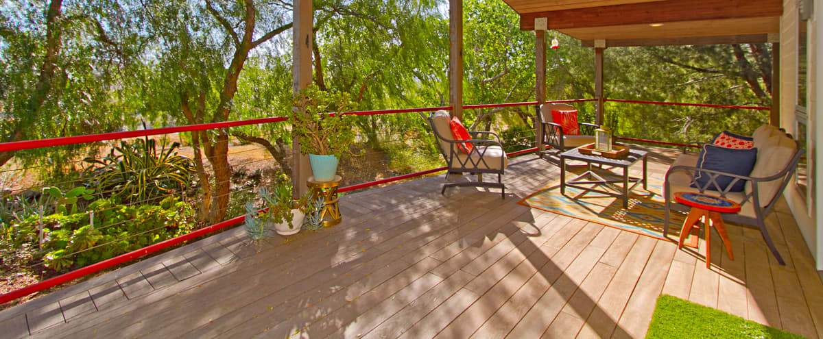 Luxury European Style Cabin on 4.5 acres in Winchester Hero Image in undefined, Winchester, CA