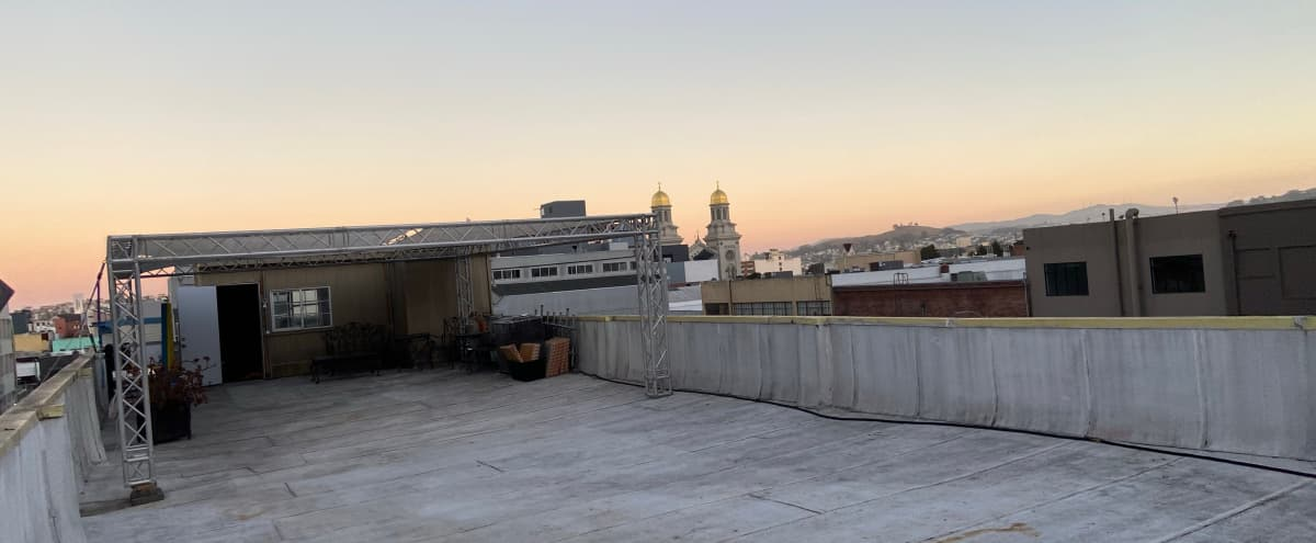 Roof with a view for covid-safe events! in San Francisco Hero Image in SoMa, San Francisco, CA