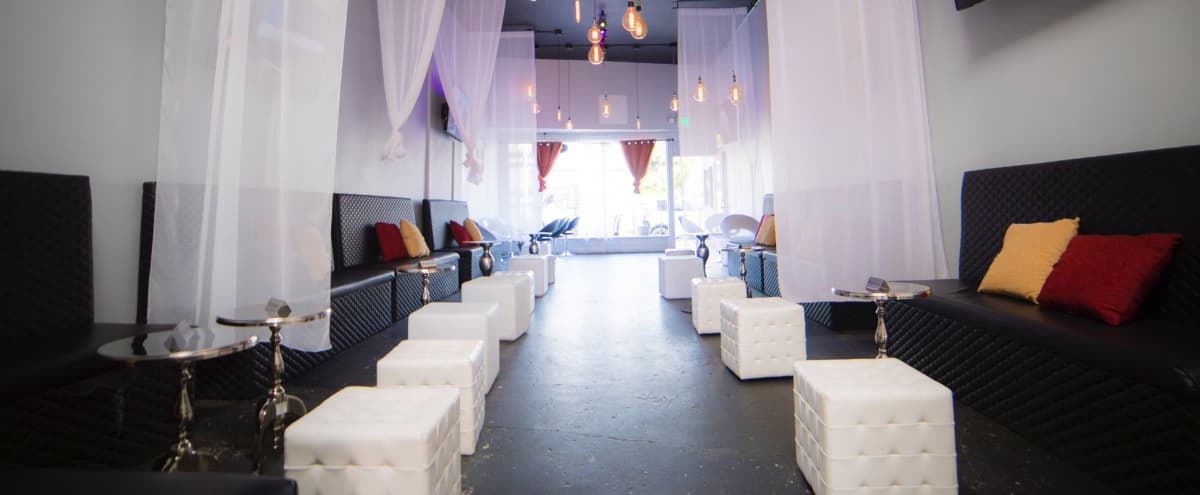 Mid City Lounge with incredible lighting for photoshoots and film shoots in Los Angeles Hero Image in Central LA, Los Angeles, CA