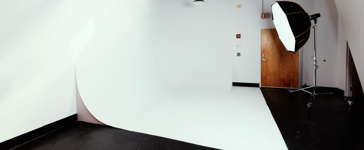 Cyclorama Wall | Studio A in Atlanta Hero Image in Marietta Street Artery, Atlanta, GA