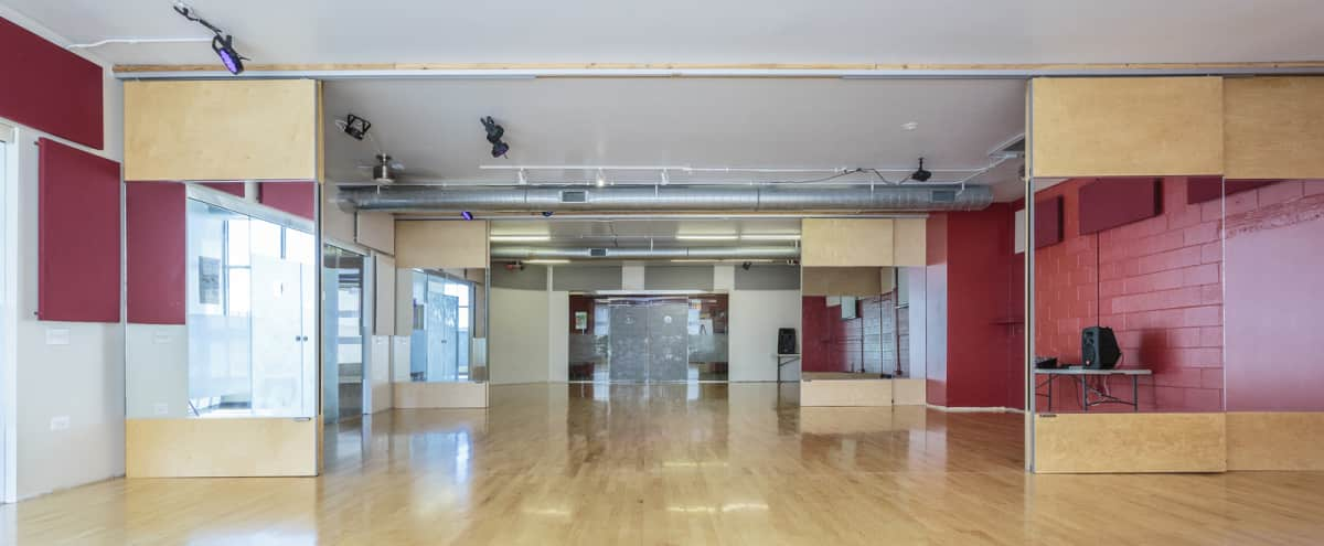 Beautiful Dance Studio Available for Meetings & Presentations | South Loop in Chicago Hero Image in South Loop, Chicago, IL