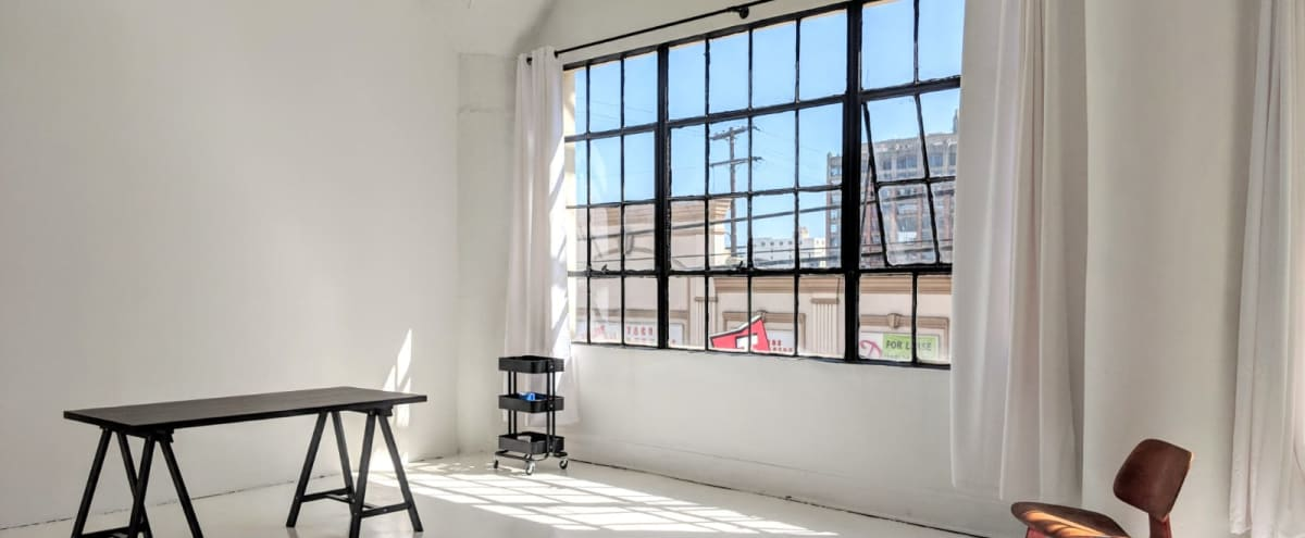 Modern Studio with Amazing Natural Light and Rooftop, Downtown LA in Los Angeles Hero Image in Central LA, Los Angeles, CA