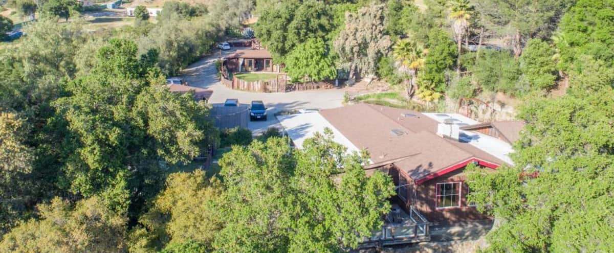 Lovely Home & Animal Sanctuary with Retreat Space and Scenic Mountain Views in Malibu Hero Image in undefined, Malibu, CA