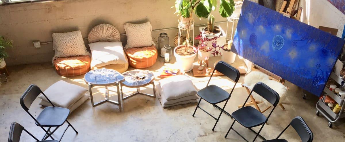 Artist Loft, Gallery, Creative and Holistic Healing Space, Painting Studio in Los Angeles Hero Image in Rampart Village, Los Angeles, CA